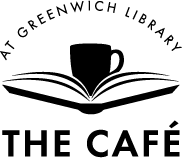 coffee shop logo - The Café at Greenwich Library